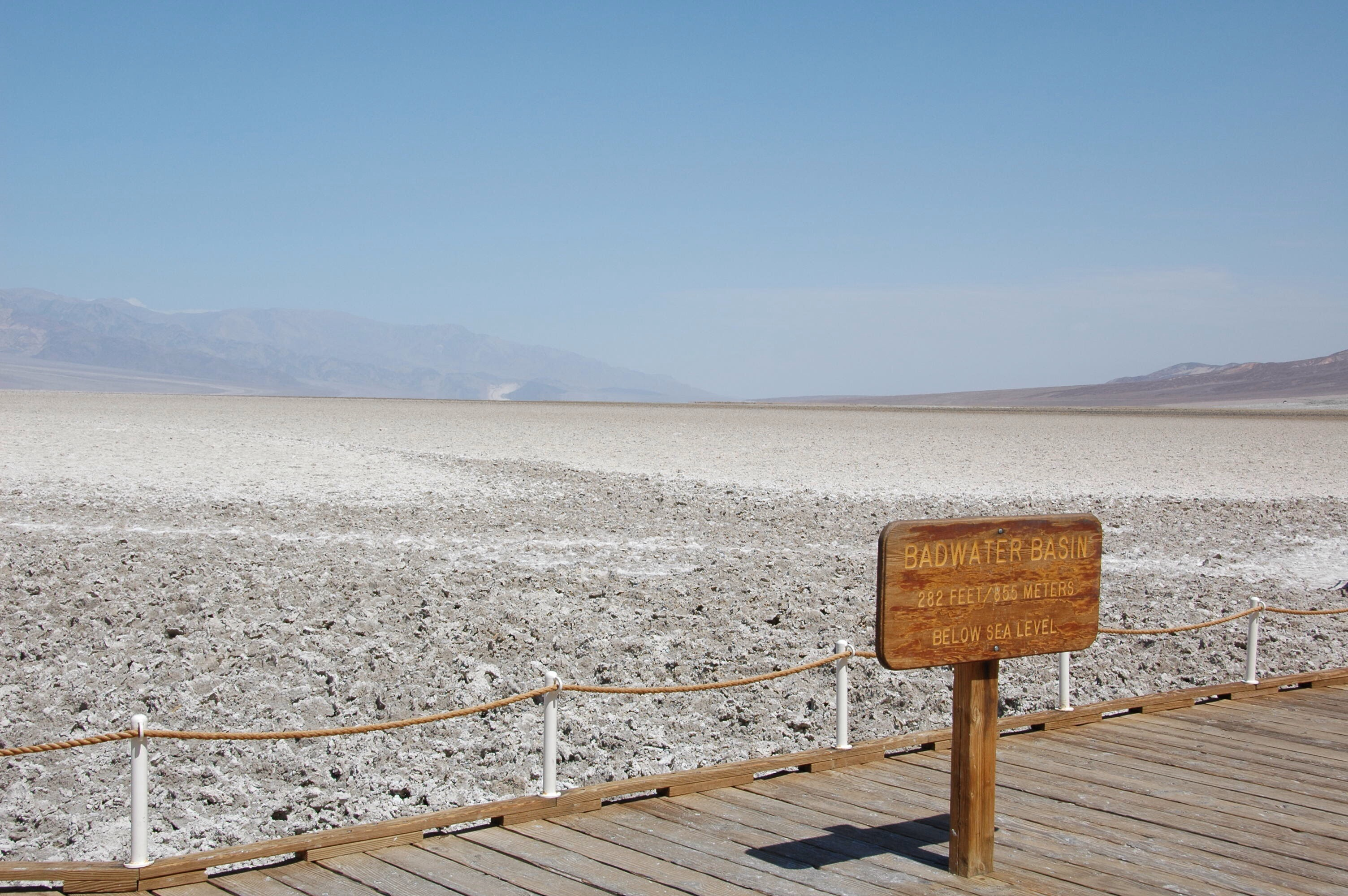 Bad Water - Death Valley